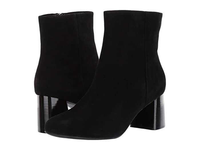 60s Shoes, Boots | 70s Shoes, Platforms, Boots Taryn Rose Cathy Black Suede Womens Shoes $210.00 AT vintagedancer.com