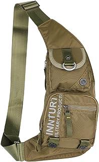 Kawei Knight Nylon Sling Bag Messenger Backpack Fanny Pack