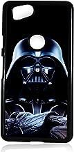 (for Google Pixel 3) Black Frame Back Case Cover - HOT0125 Starwars Darth Vader
