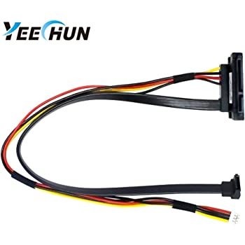 YEECHUN New Hard Drive HDD Optical Drive SATA Power Cable for Lenovo C540 C560 Series Replacement Part Number VBA00_HDD_Cable DC02001MU10 VSO