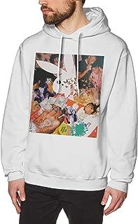 ATONE9 Men's Hoodie Sweatshirt Playboi Poke It Out-Carti Cotton Sweater White L