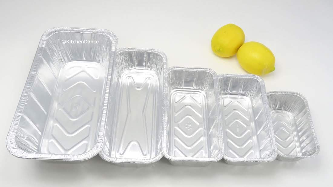 KitchenDance Disposable Aluminum New color Foil Loaf l Max 81% OFF 1 Pan Variety Pack.
