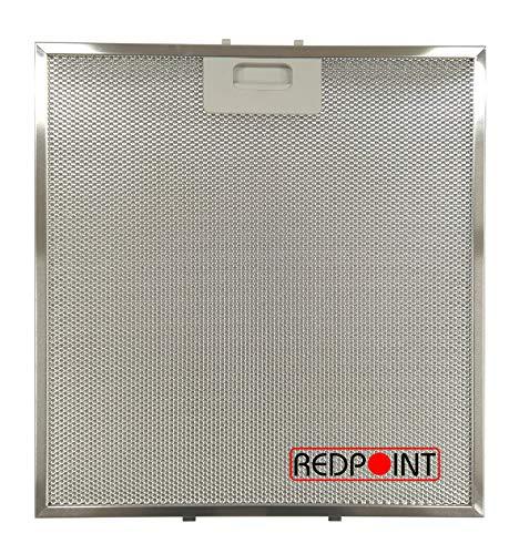REDPOINT® Filtro de aluminio para campanas TEKA 282 x 340 x 9 mm