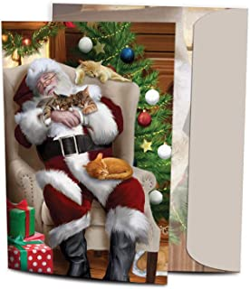 Tree-Free Greetings Christmas Cards and Envelopes, Set of 10, 5 x 7