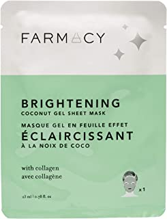 Farmacy Hydrating Coconut Gel Natural Face Mask - Brightening (Purple Broccoli)