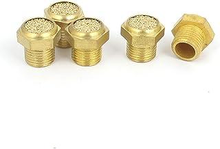 1//8BSP Rosca Macho Latón Aire Neumático ruido reducir filtro de escape Silenciador 10Pcs