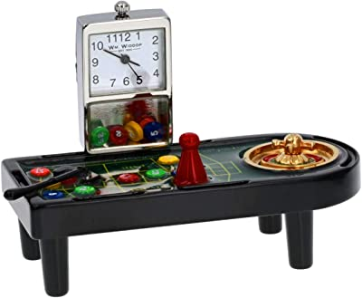 LEGENDS Monte Carlo - Reloj en Miniatura – Mesa de Juego de Casino: Amazon.es: Hogar