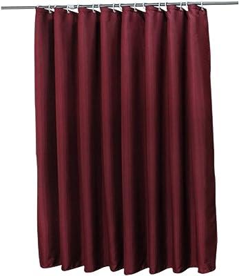 KTYXDE 厚いシャワーカーテンウォータープルーフ衛生パーティションカーテンシャワーカーテンは、シャワーカーテンクロス シャワーカーテン (Size : 150*180cm)