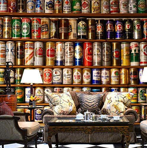 sswyfc Behang 3D Bier Big Woonkamer Bar KTV Hotel Cafe achtergrond muurschildering