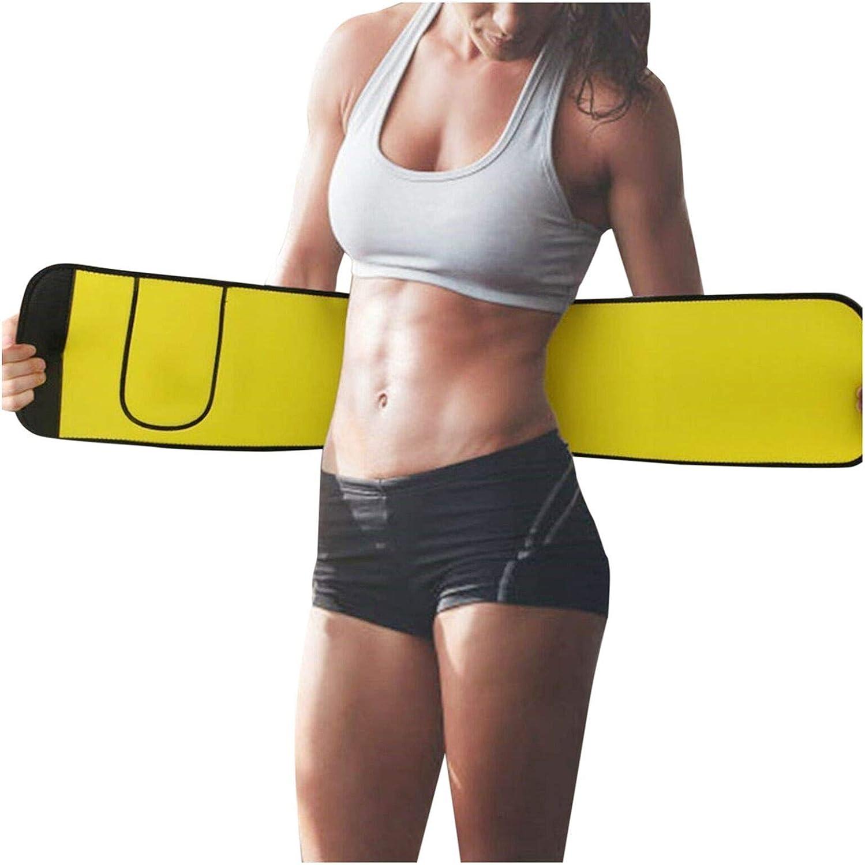 EseFGJK Waist Trimmer Belt, Sweat Sauna Slim Belly Belt for Men and Women, Abdominal Waist Trainer, Abdominal Trainer