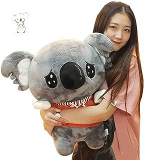 Almohada Koala australiana juguetes de peluche niños durmiendo muñeca de algodón oso koala almohada regalo de cumpleaños niña material muy saludable y seguro ( Color : Gray , Size : Height 45cm )