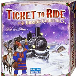 Days of Wonder DO7208 Ticket To Ride: Nordic Countries
