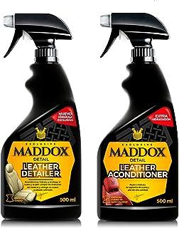Maddox Detail - Kit Leather Care - Limpiador y acondicionador de cuero y piel. Pack de dos productos.