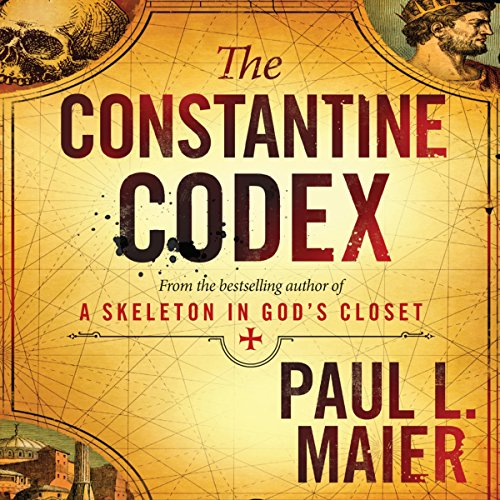 The Constantine Codex audiobook cover art