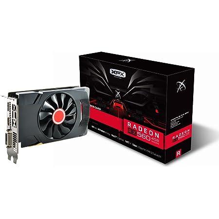 XFX Radeon RX 560 1295MHz, 4gb GDDR5, 16CU,1024 SP, DX12, DP HDMI DVI, PCI-E AMD Graphics Card (RX-560P4SFG5)