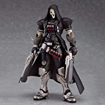 LWWOZL Overwatch Toy Model Reaper Gabriel Reyes Game Statue Joint Moveable PVC Exquisite Anime Decoration Collection -6.5in