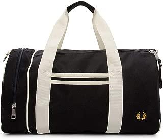 men barrel gym bag nero