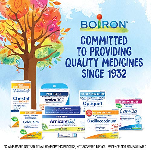 Boiron Rhinallergy Homeopathic Medicine for Allergy Relief, 60 Count