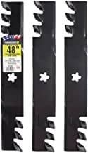 Maxpower 561735XB 561735X Commercial Mulching Blade Set for 48
