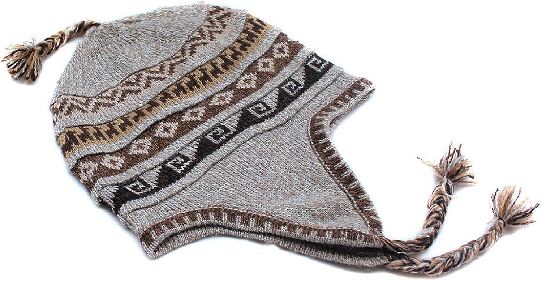 CELITAS DESIGN Chullo HAT Cap Baby Alpaca Incaico geometrico Made in Peru