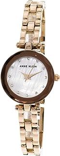 Anne Klein Women's AK-3120MPRG Rose-Gold Stainless-Steel Japanese Quartz Fashion Watch
