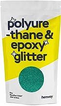 "Hemway | Polyurethaan & Epoxy Hars Glitter - MICROFINE - 1/256"" 0.1mm - Turkoois/100g"