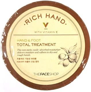 The Face Shop Rich Hand V Hand & Foot Total Treatment 110ml/3.72 fl.oz.