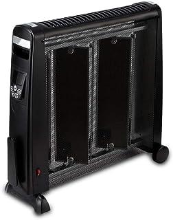 Radiador eléctrico MAHZONG Inverter Calefactor Inicio Cristal de Carbono Infrarrojo Impermeable y Ahorro de energía-2200W