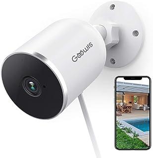 Cámaras de Vigilancia WiFi Exterior/Interior, Goowls 1080P Cámara IP WiFi Exterior con IP65 Impermeable, Cámaras de Seguri...