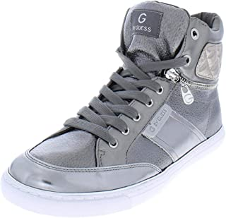 G by GUESS Ombae High-Top Sneakers Pewter 7.5M