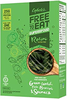 Cybele's Free-to-Eat Superfood Veggie Pasta, Superfood Green, 8 Ounce (Pack of 1)