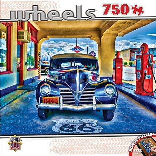 Mercancía de alta calidad y servicio conveniente y honesto. MasterPieces Wheels Wheels Wheels Collection Kicks on Route 66 Puzzle (750 Piece) by MasterPieces  Con 100% de calidad y servicio de% 100.