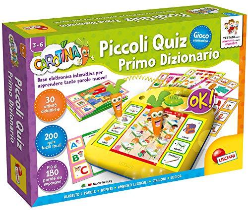 Lisciani Giochi 49141 Carotina Piccoli Quiz Primo Dizionario