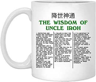 The Wisdom Of Uncle Iroh The Last Ceramic Coffee Mug - Travel Mug - Beer Stein - Stainless Water Bottle Airbender