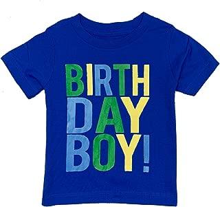 Birthday Boy Toddler Kids T-Shirt