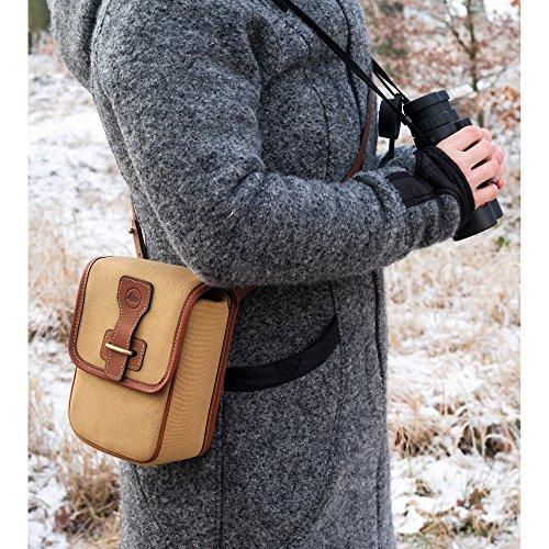 Leica Aneas Bag for Binocular with 42mm Lens, Light Brown