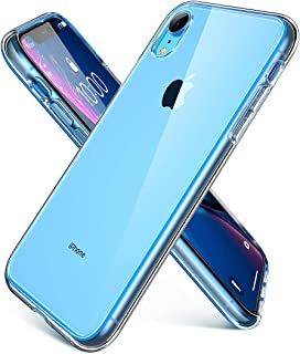 AINOPE Clear iPhone XR Case 6.1 inch,Soft & Flexible TPU Ultra-Thin Shockproof 4 Corners Bumper Transparent Hard Back Cover, Cases Drop Protection for iPhone 10R 2018-(Crystal Clear)