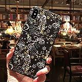 Funda para teléfono en Relieve 3D para iPhone 12 11 X XS XR Pro MAX Funda Trasera Mate Suave para iPhone 6s 7 8 Plus, 4, para iPhone 11