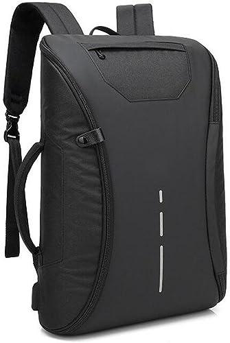 WYXIN Une tranche de sac à dos d'ordinateur portable rechargeable d'USB de sac à dos imperméable de sac à dos d'hommes de sac à dos