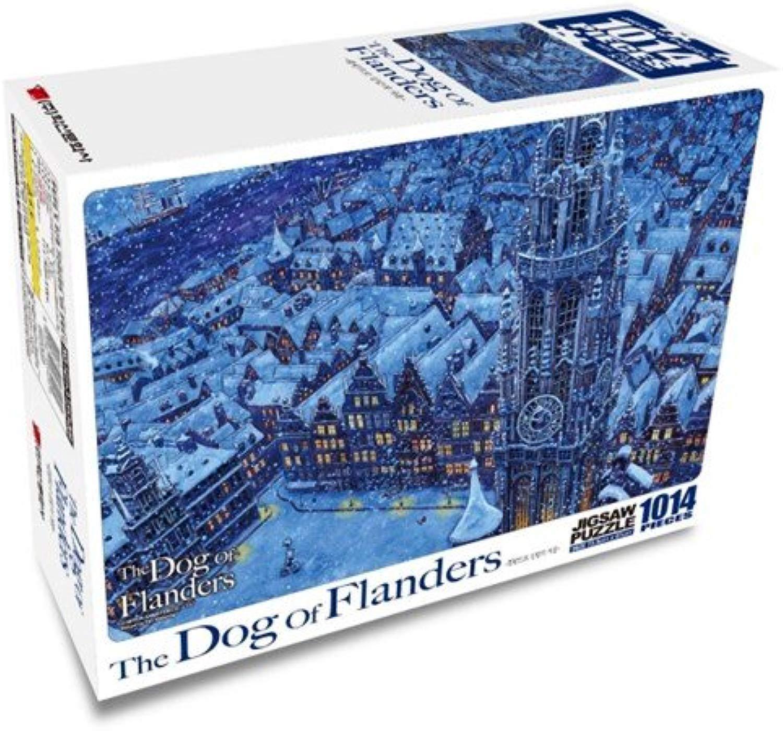 The dog of Fleers Jigsaw Puzzle - 1014pcs flauomod's Winter