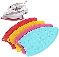 GadgetBite Flexible Silicone Iron Pad Heat Resistant Anti-Slip Mat for Hot Iron (Cyan)
