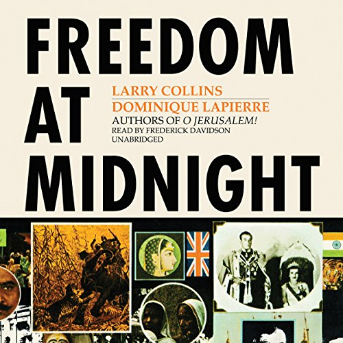 Freedom at Midnight audiobook cover art