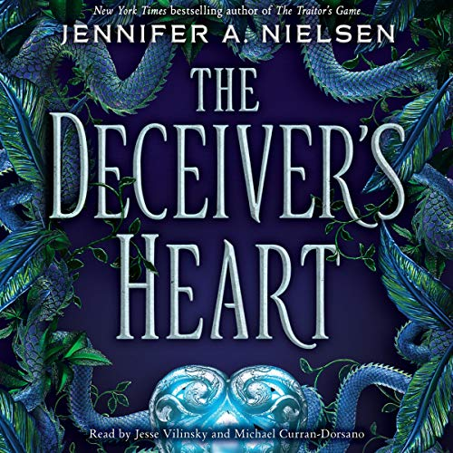 The Deceiver's Heart audiobook cover art