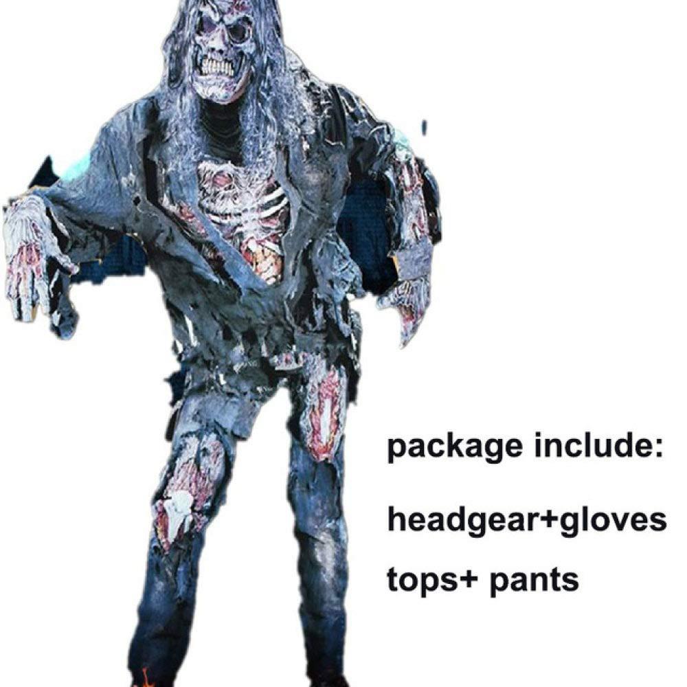 FUPOA Disfraces de Halloween de Vampiro para Mujeres, Hombres ...