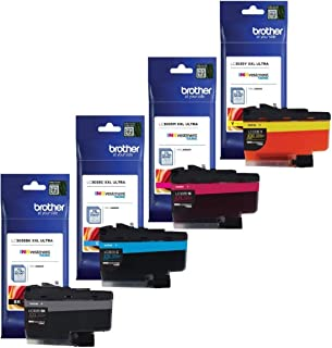 Brother Genuine LC3035BK, LC3035C, LC3035M, LC3035Y Ultra High Yield Black/Cyan/Magenta/Yellow Ink Cartridge Set, LC3035
