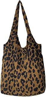 Hotaden Le Donne Leopard Print Borsa di Spalla delle Signore Borsa Messenger Satchel Shopping Bag Tote