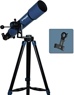 Meade Instruments 234004 Star Pro AZ 102mm Refracting Telescope and Smart Phone Adapter