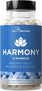 Harmony D-Mannose – Urinary Tract UT Cleanse & Bladder Health – Fast-Acting..