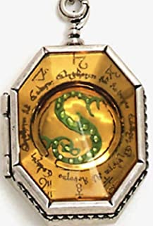 Harry Potter Salazar Slytherin Horcrux Locket Necklace