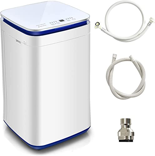 discount Giantex online Full Automatic Washing Machine, 7.7 lbs Compact Washer with Heating Function, 8 Programs 3 Water Levels and Built-In Drain Pump, wholesale 2 In 1 Laundry Washer for Apartment, Dorm and RV outlet sale